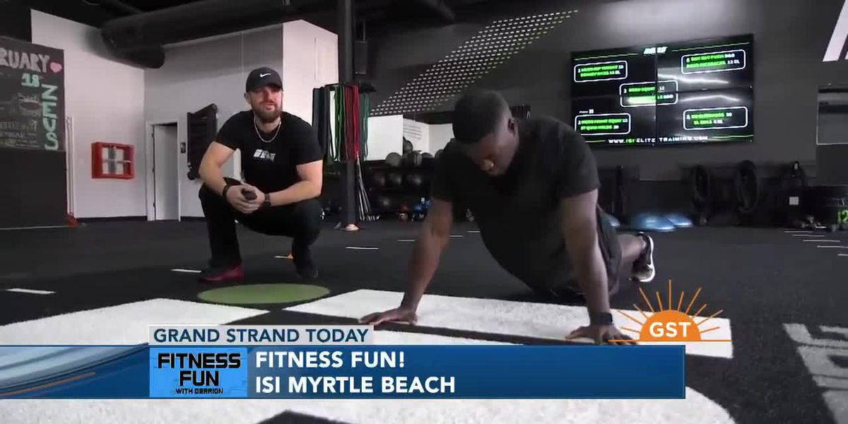 Fitness Fun with Derrion at ISI in Myrtle Beach