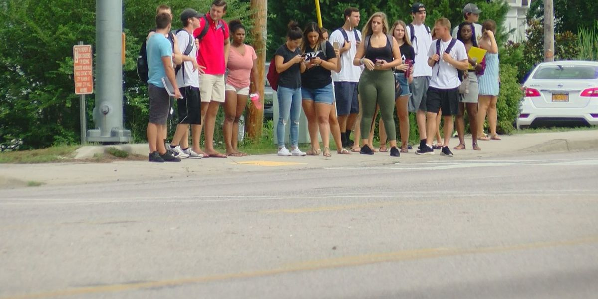 CCU working to improve pedestrian safety after student hit on Highway 544