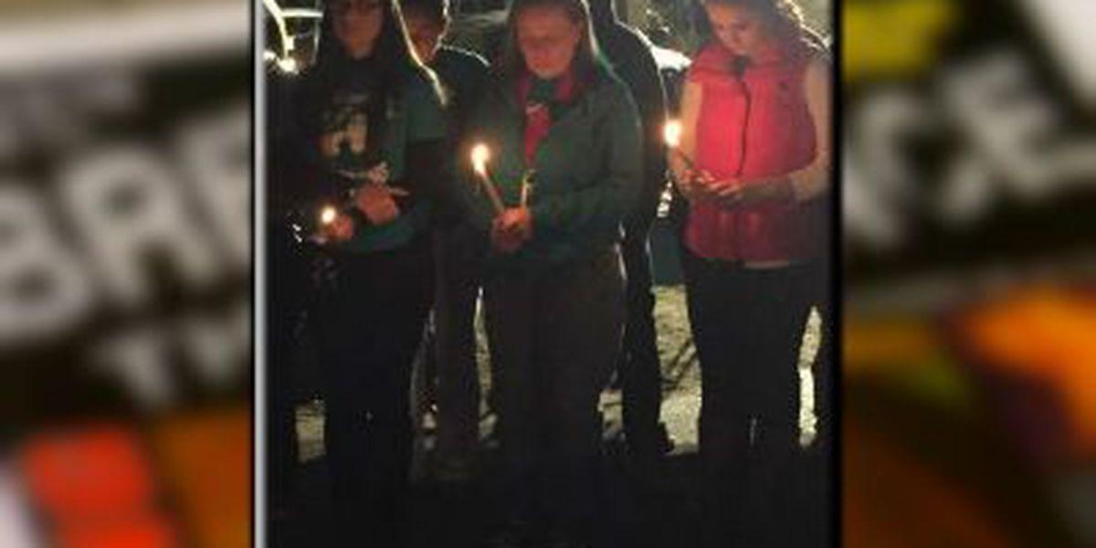 Vigil held to honor life of Heather Elvis