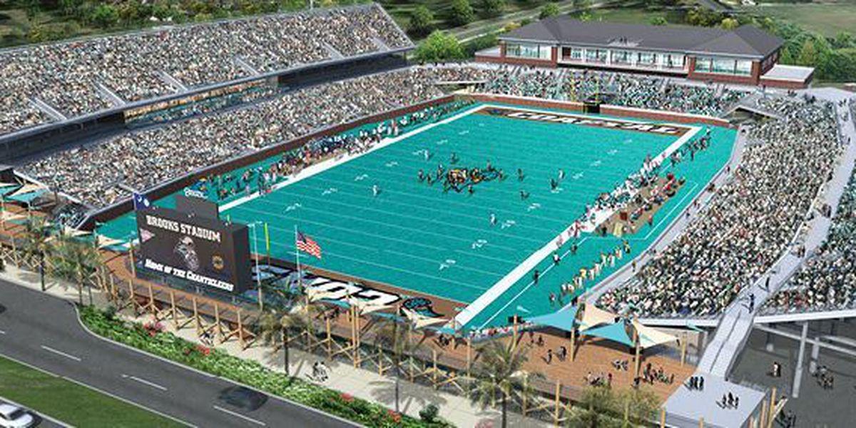 CCU breaks ground on Brooks Stadium expansion Tuesday