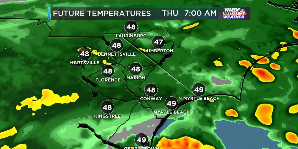 FIRST ALERT: Miserable Thursday morning commute on the way