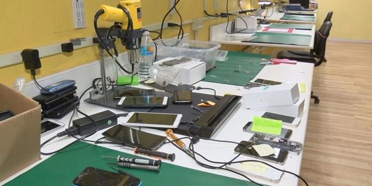 Former prisoner hopes to teach former prisoners cell phone repair skills