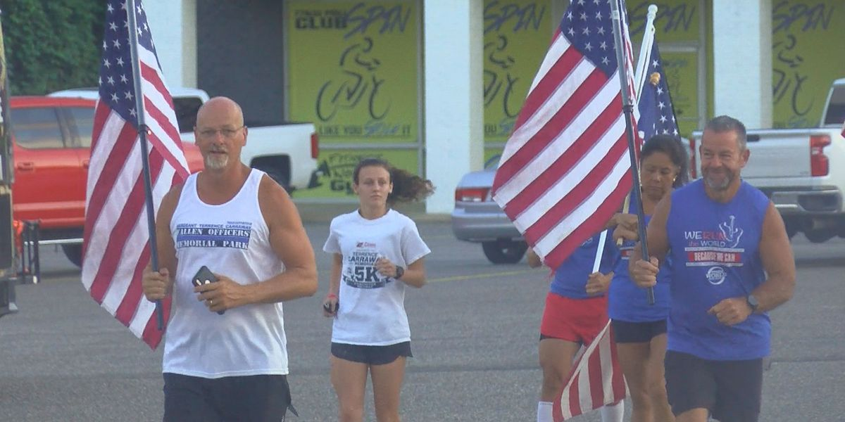 Darlington Mayor Curtis Boyd leads run to remember 9/11 victims