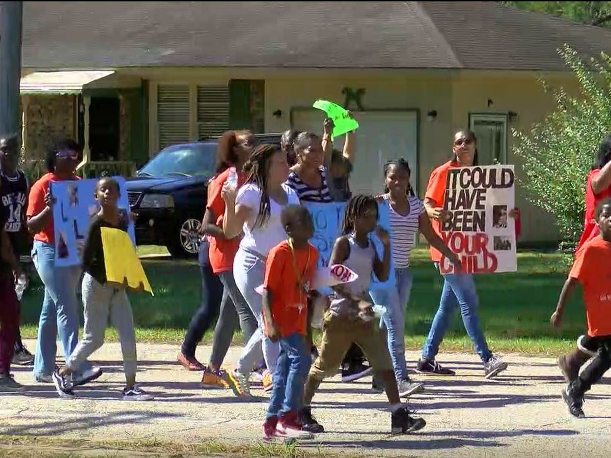 Loris community marches against gun violence