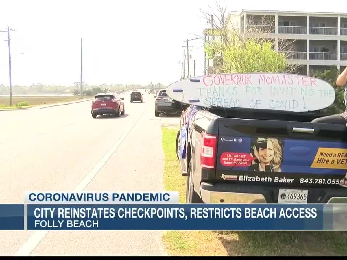 Folly Beach to reinstate checkpoint, suspend short term rentals