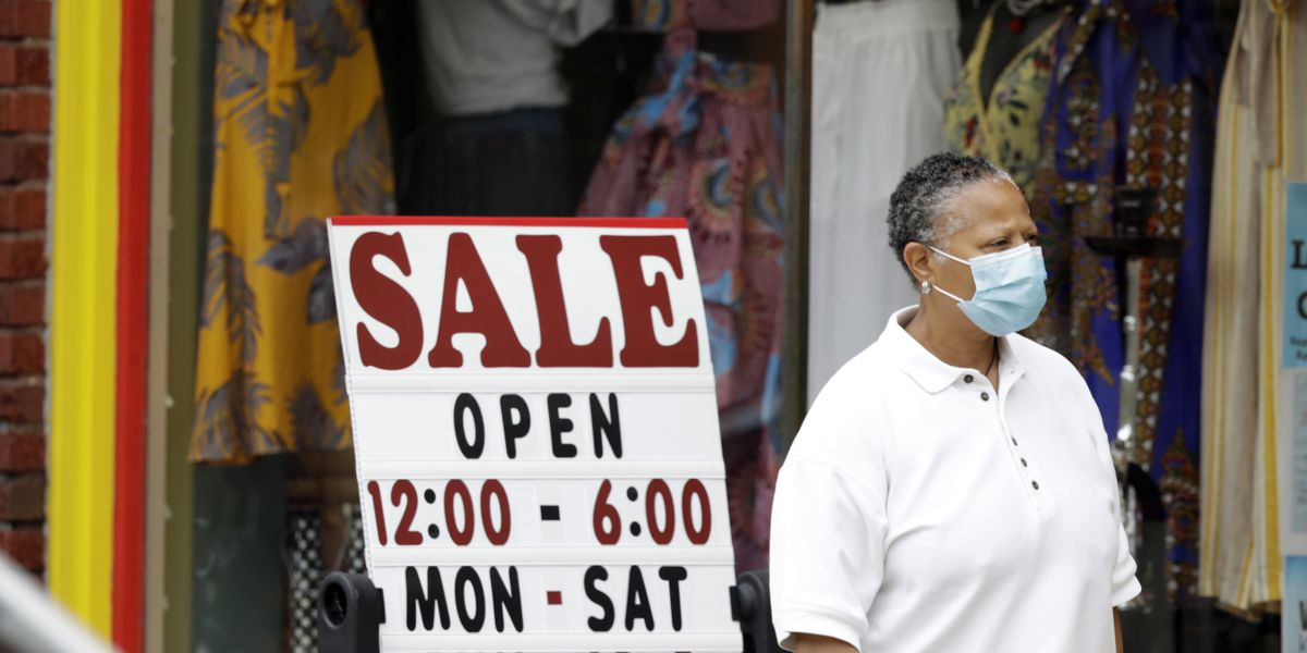 US unemployment drops unexpectedly to a still-high 13.3%