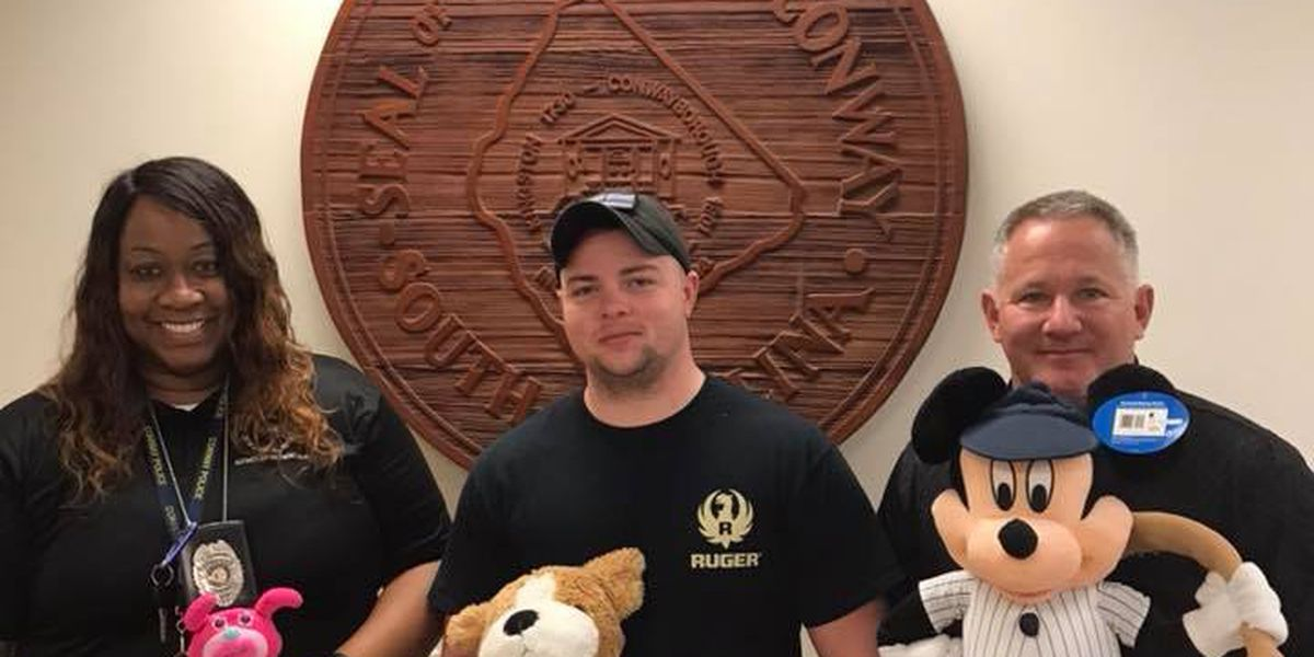 Retired Sergeant uses free time to collect, donate stuffed animals to police and fire stations