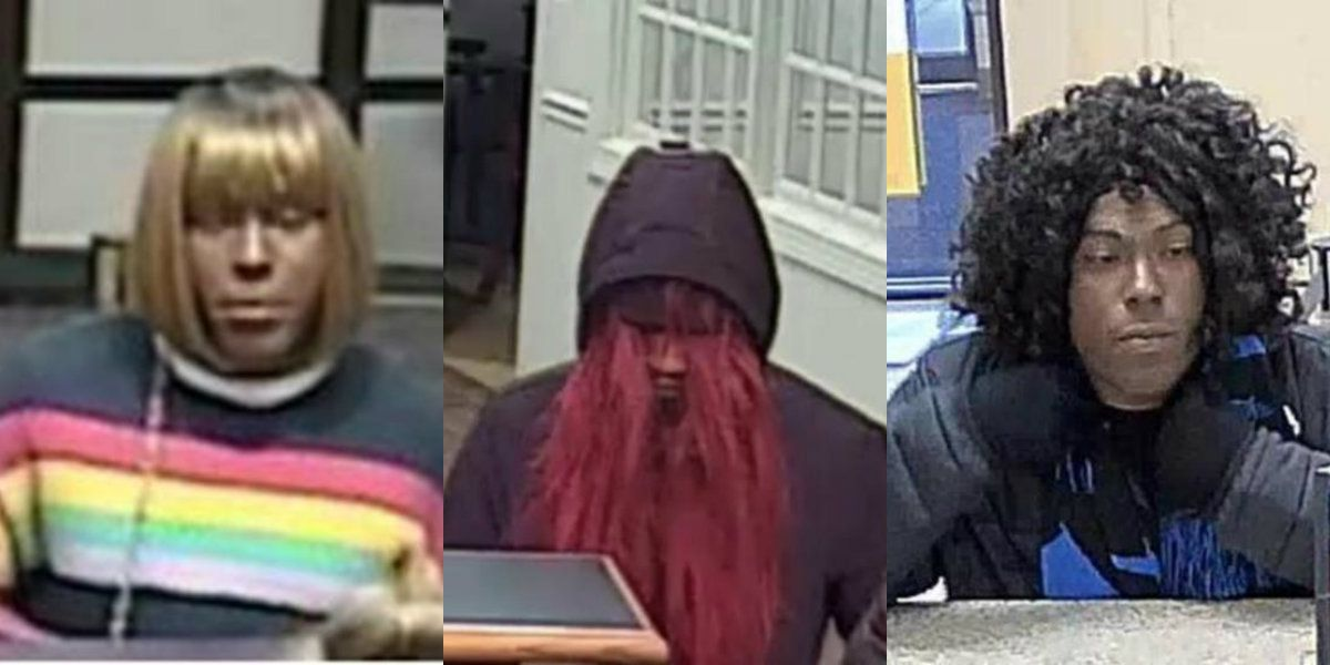FBI looking for 'Bad Wig Bandit' suspected in multiple N.C. bank robberies