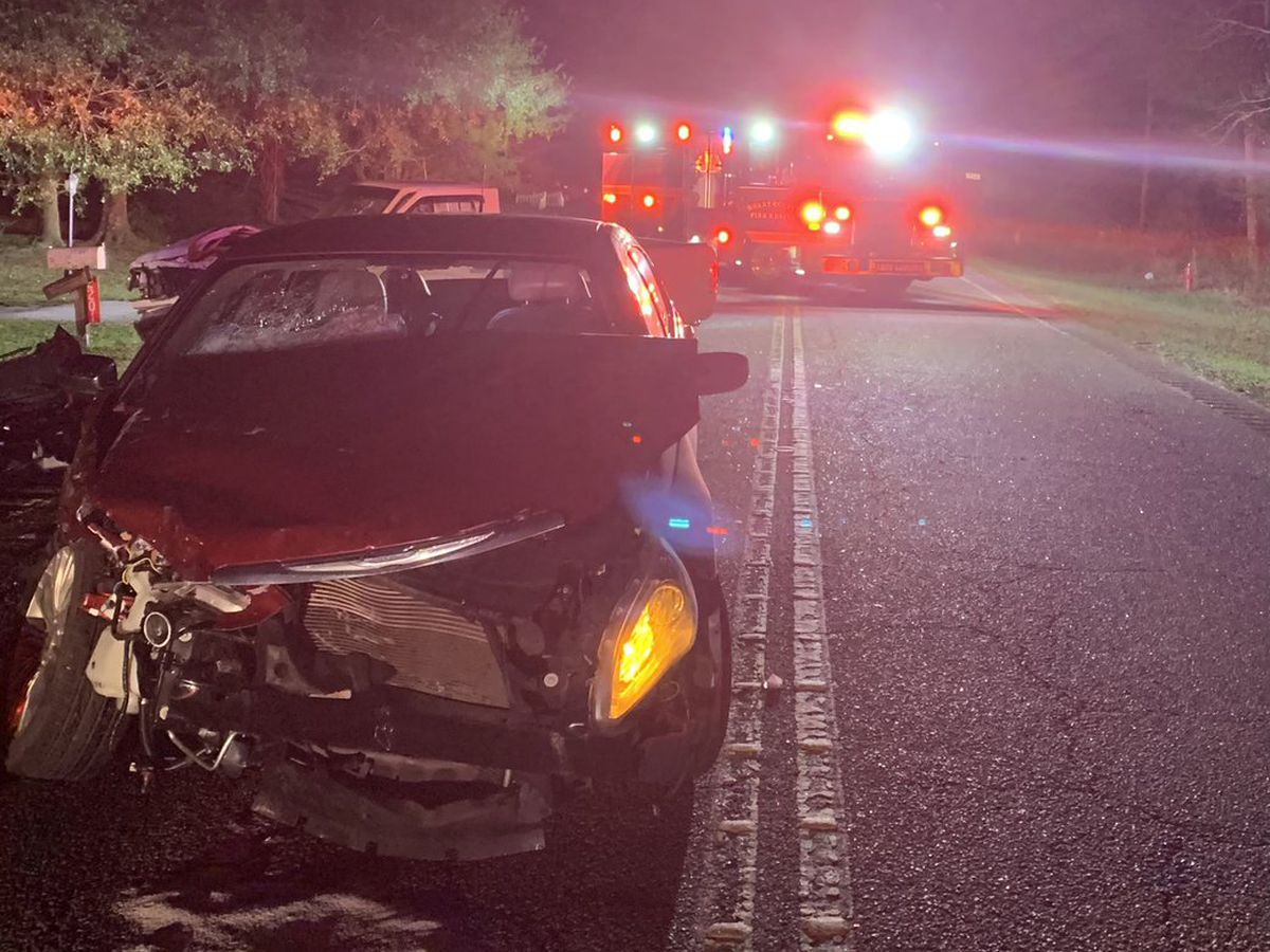 HCFR: Two-vehicle crash along Highway 90 sends 4 to hospital