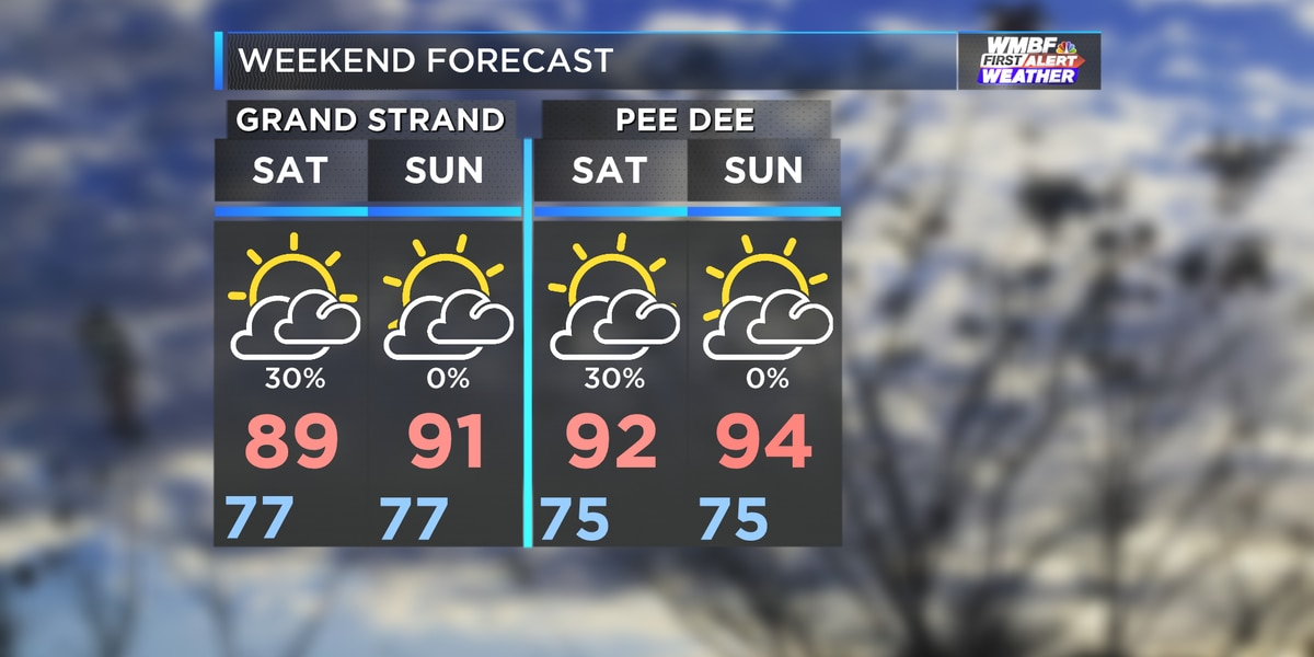 Weekend Events: Humidity continues with a few scattered storms