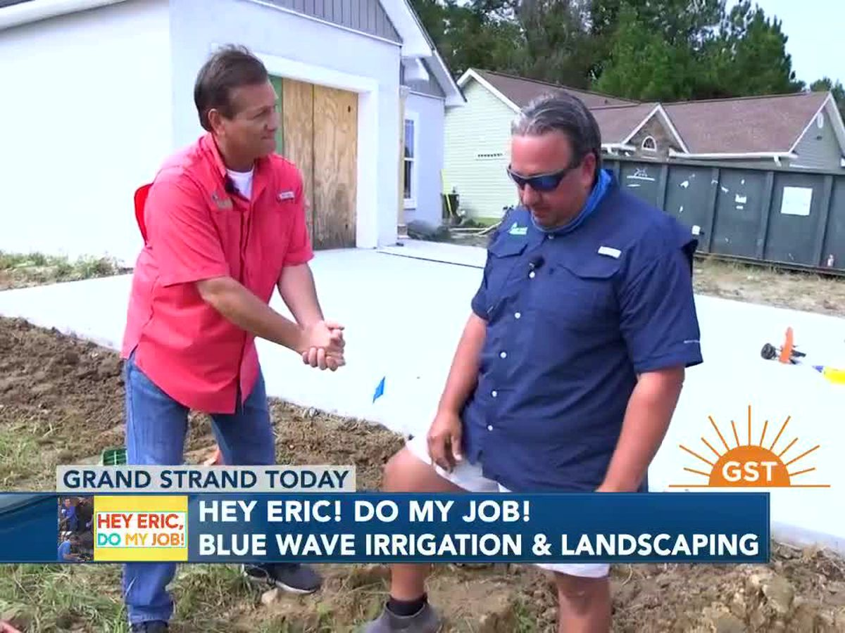 Hey Eric Do My Job: Irrigation system