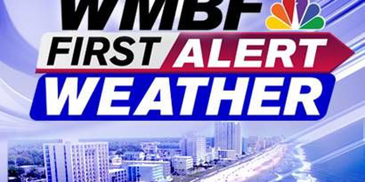 WMBF FIRST ALERT FORECAST: The heat is on and some storms are possible today