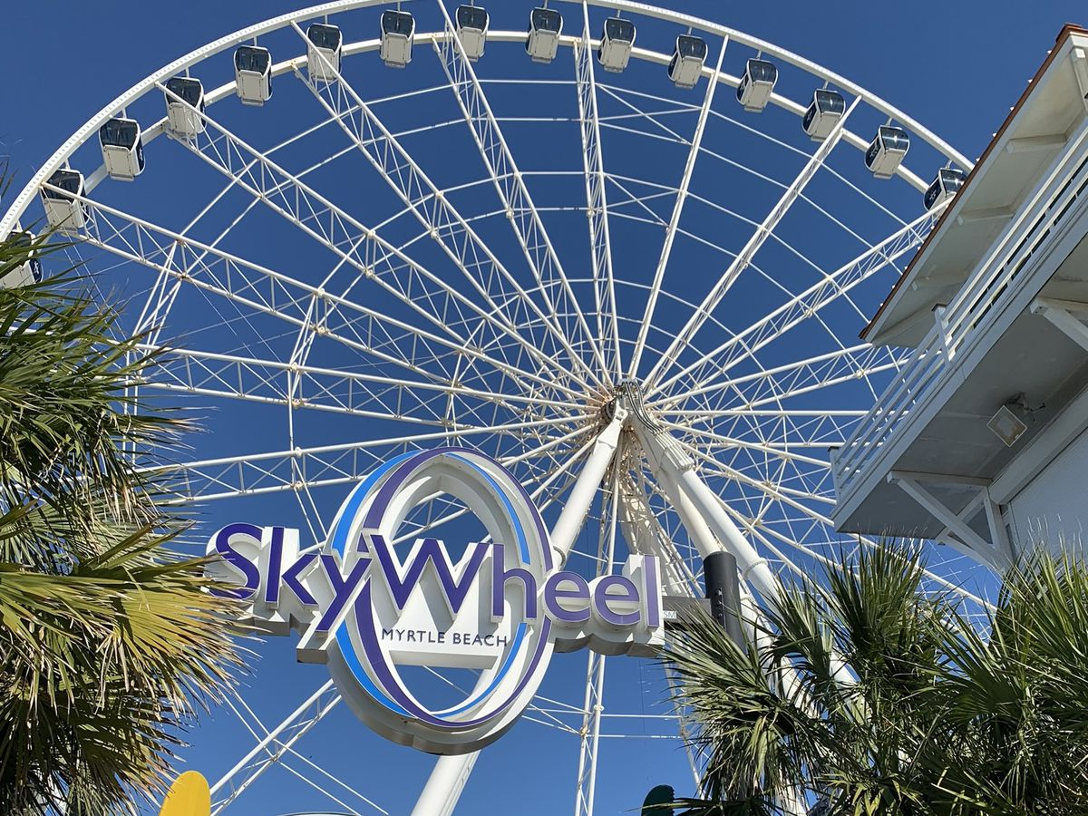 Part of refurbished SkyWheel returns to Myrtle Beach