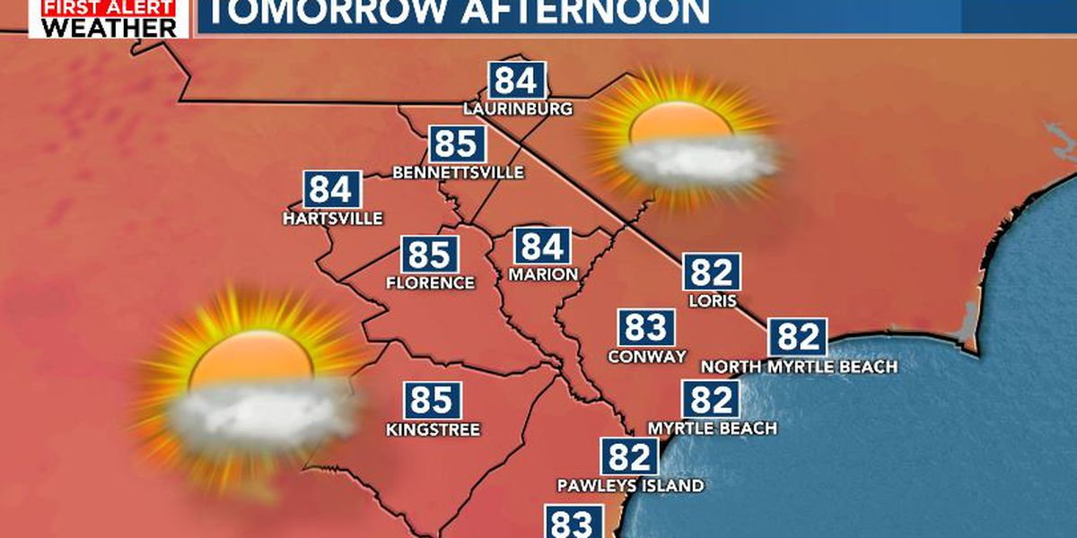 FIRST ALERT: Warm and increasingly humid