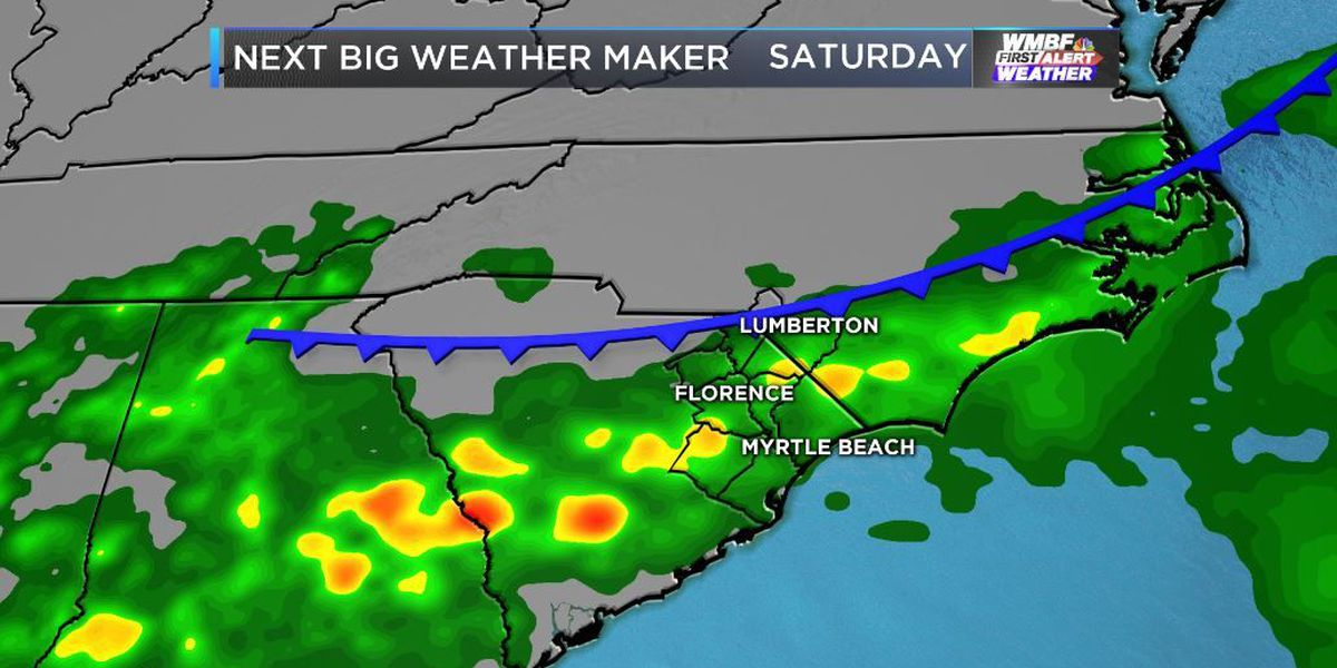 FIRST ALERT: Increasing rain chances tonight, updates to the weekend forecast