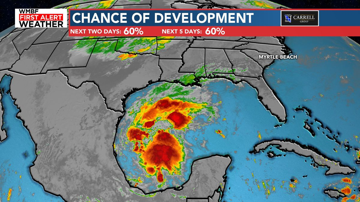 FIRST ALERT: Chance of brief tropical development in the Gulf