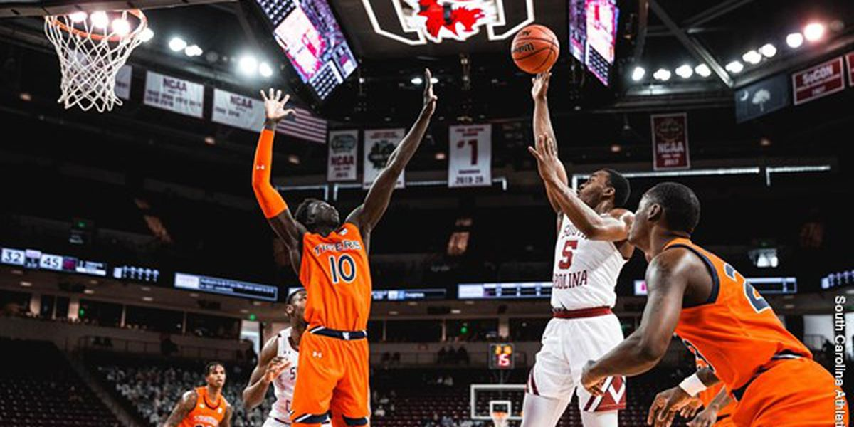 South Carolina Falls to Auburn, 109-86