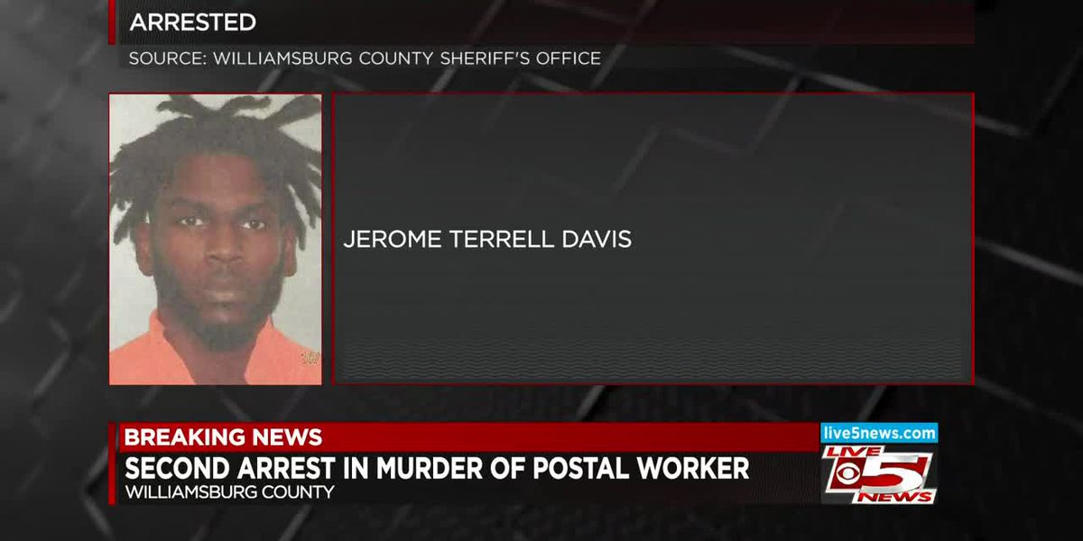 VIDEO: SC investigators arrest second suspect in killing of USPS employee