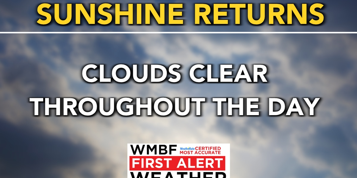 FIRST ALERT: A cold morning for May, sunshine returns