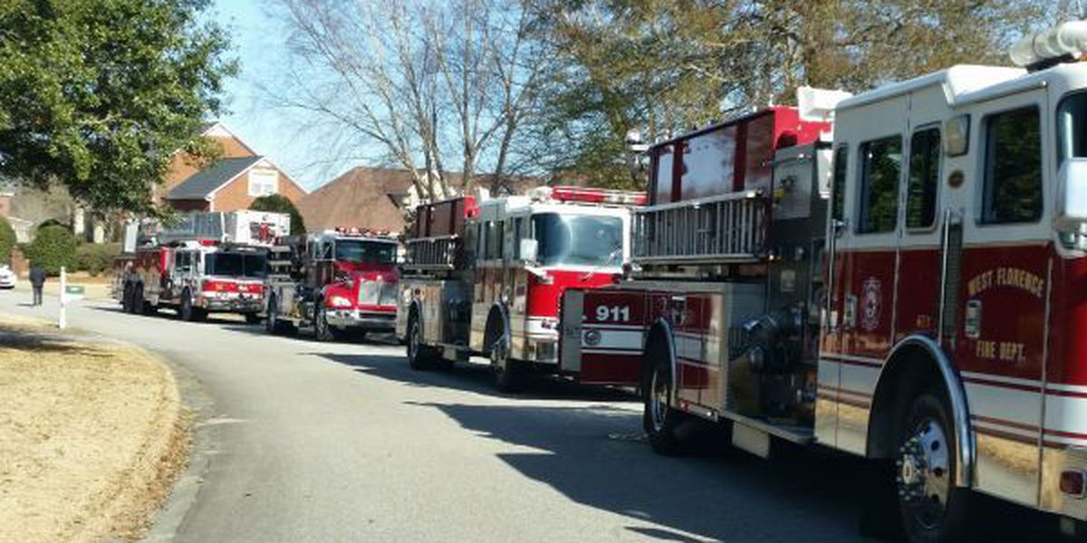 Smoke detectors alert residents about house fire