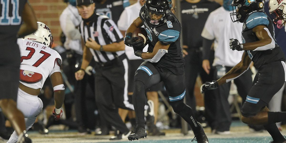 COASTAL GAMEDAY: No. 15 Chanticleers take down App State