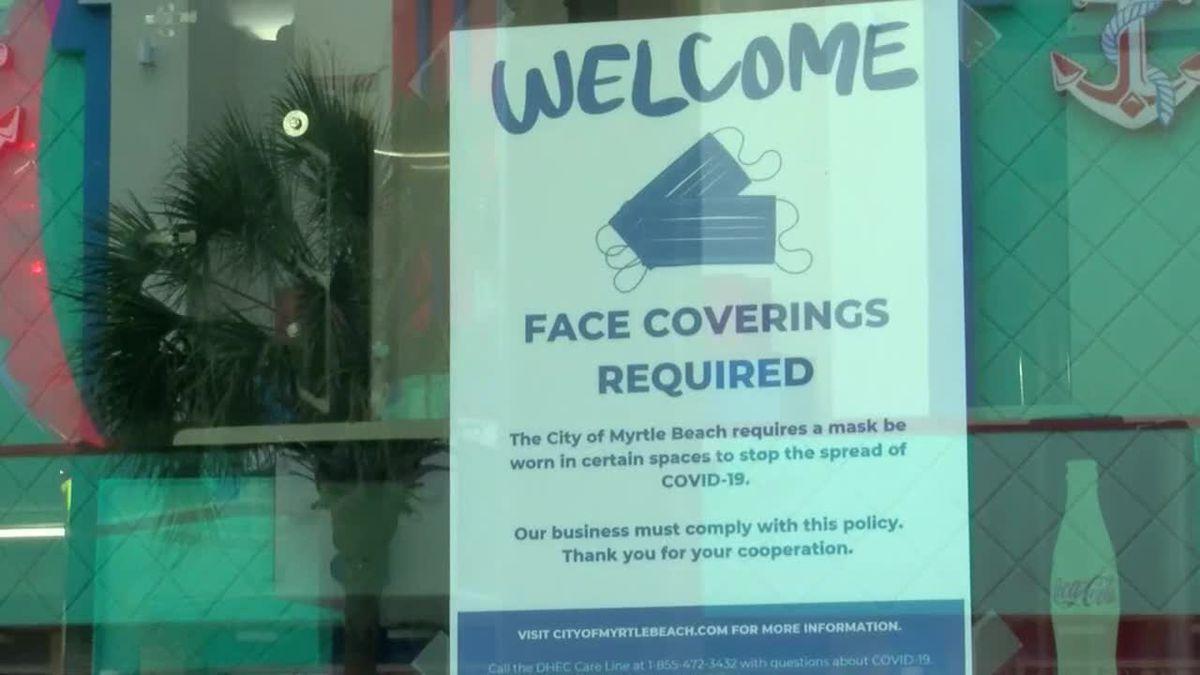 City of Myrtle Beach extends face mask ordinance through October