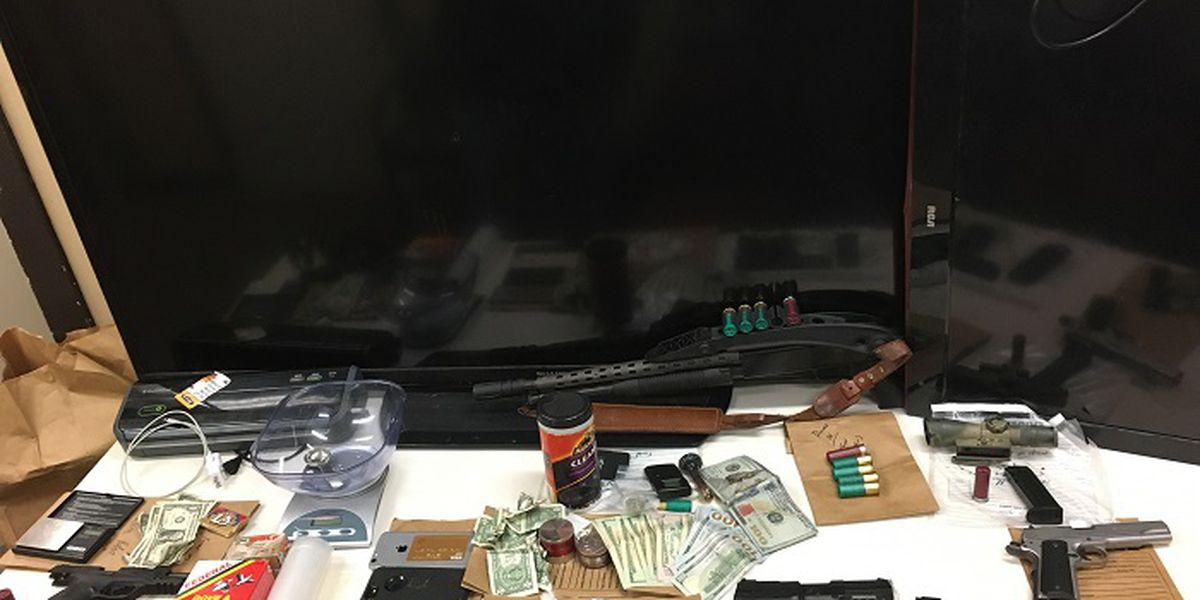 Drugs, guns seized during search warrant in Pee Dee home
