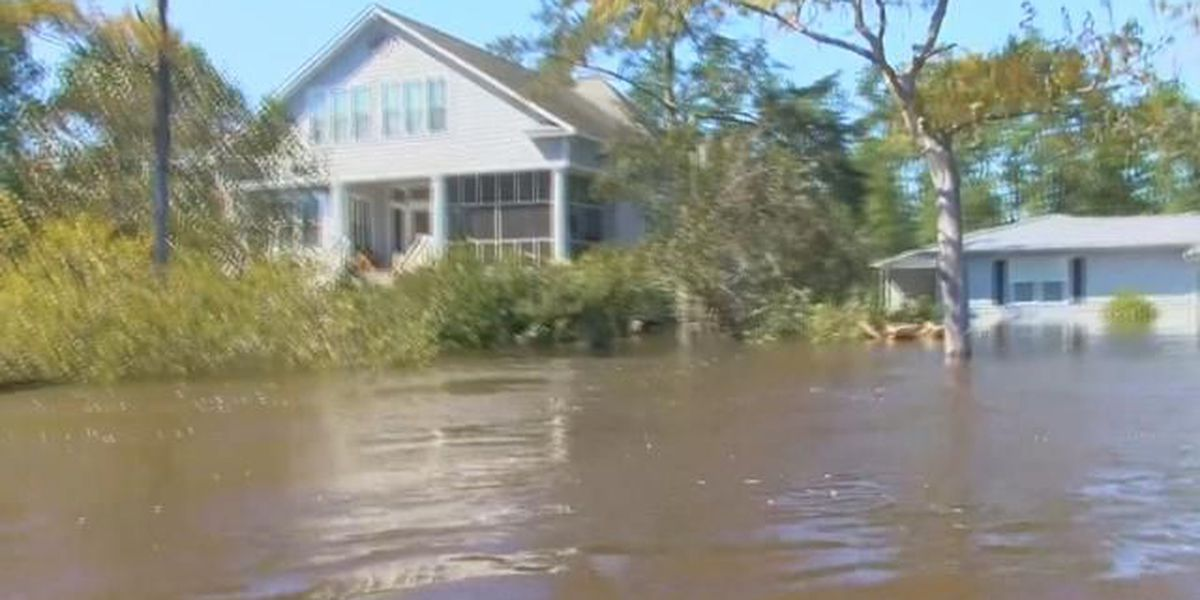 Nichols residents forced to evacuate after rising river levels