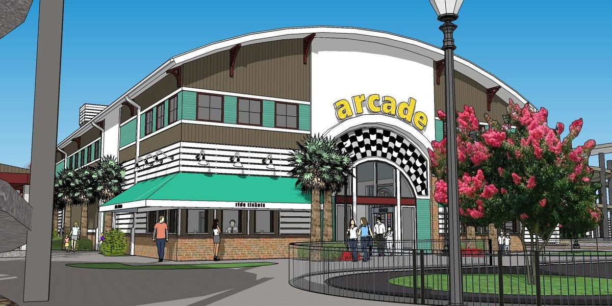 New designs for 'The Track' amusement park in Myrtle Beach revealed