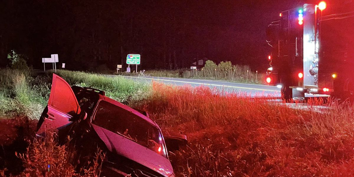 One hurt after crash in Little River