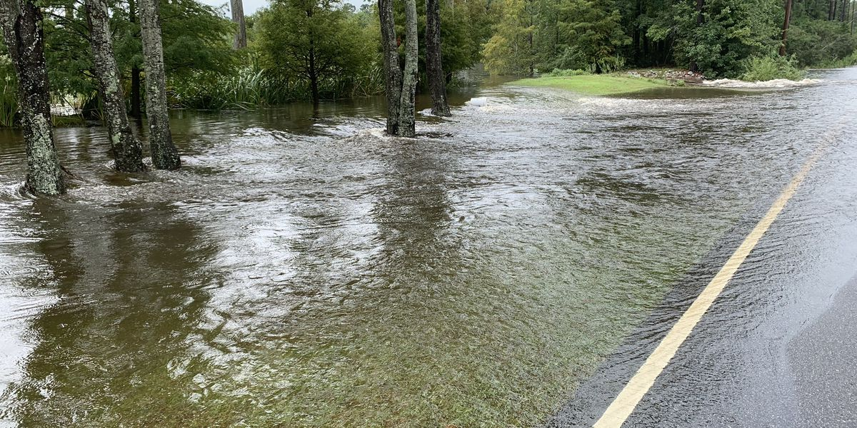 Road in Pawleys Island to reopen following flooding from heavy rain