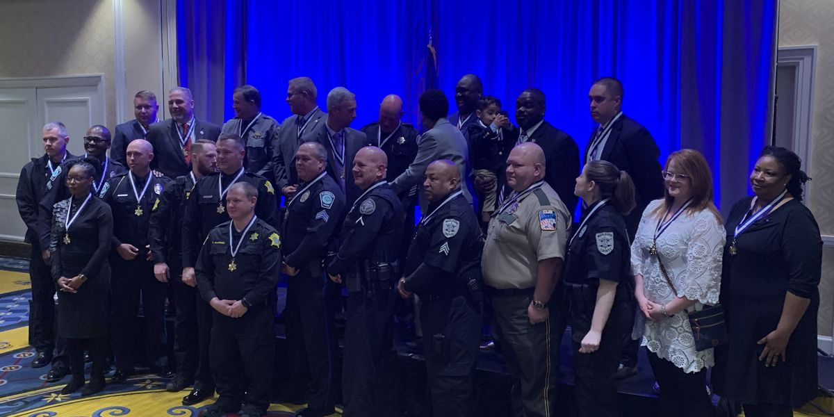 'Above and beyond': Several Grand Strand, Pee Dee law enforcement officers receive prestigious award