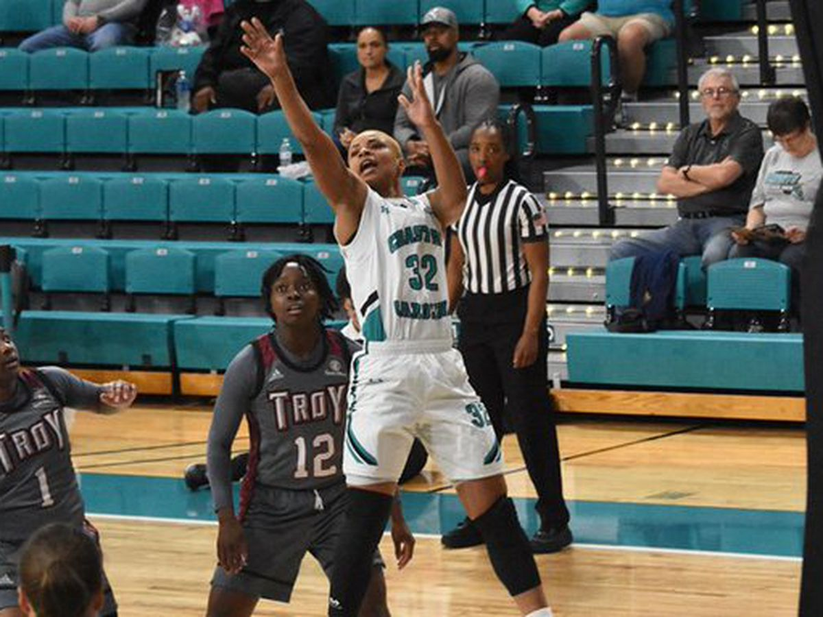 CCU's Williams named ESPNW's National Player of the Week