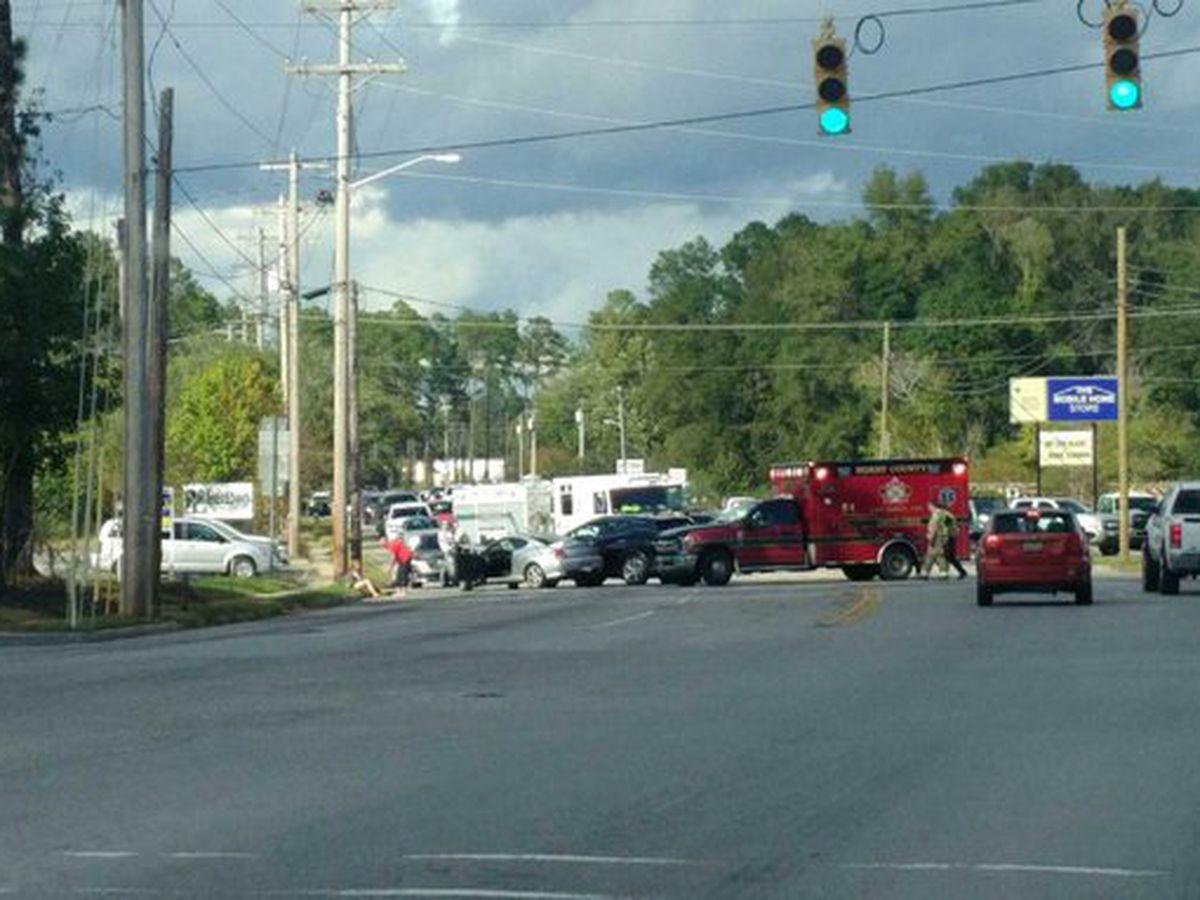 TRAFFIC ALERT: Crash blocks North Main Street in Conway