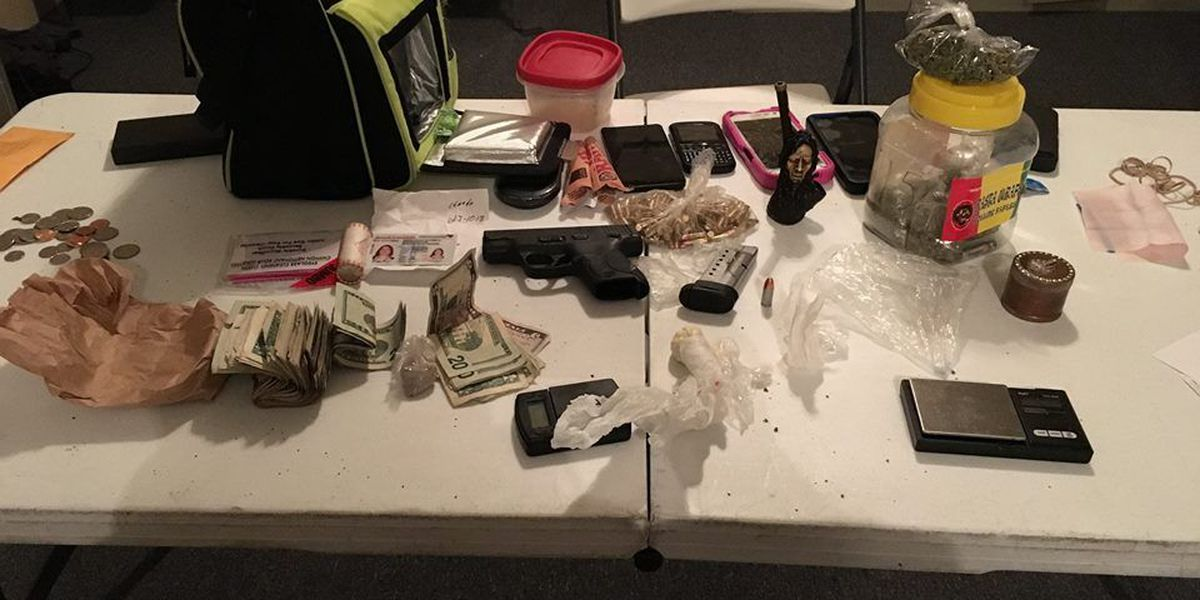 Two Darlington County residents charged with multiple drug offenses