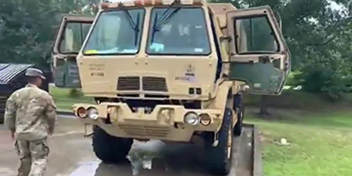 S.C. National Guard highwater vehicle set for deployment in Horry County