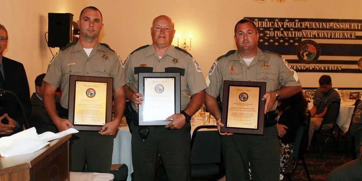 Florence County K-9 Unit recognized as nation's best