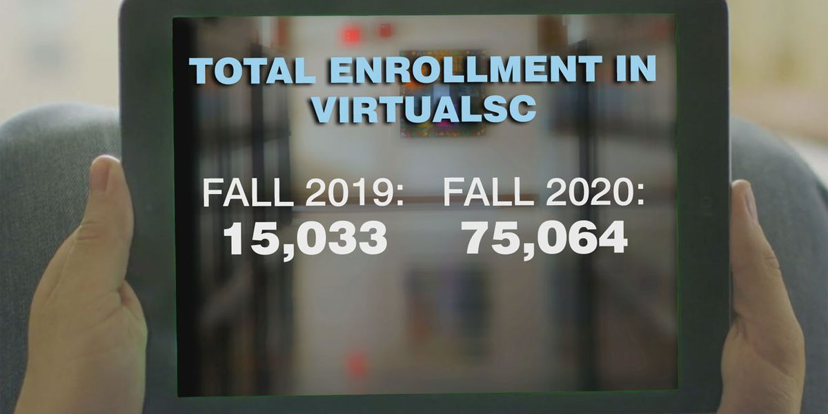 Enrollment in state's online program increased 400% this fall