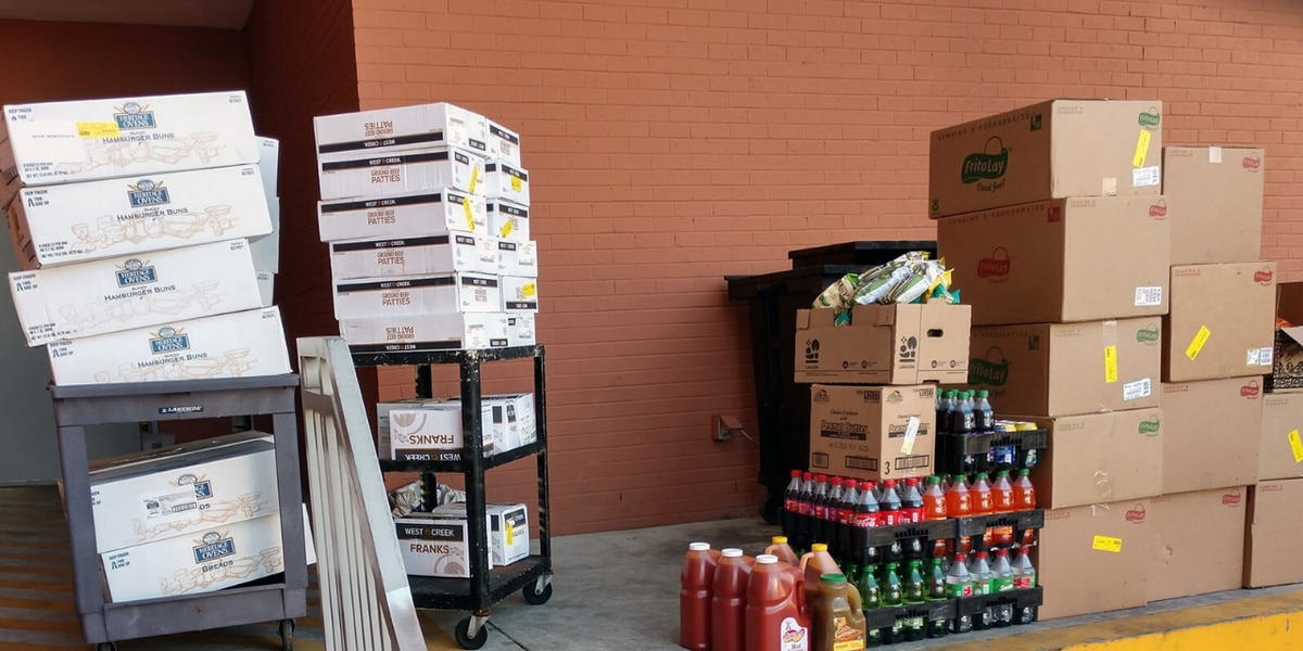 HGTC donates unused food to those facing financial struggles during COVID-19 crisis