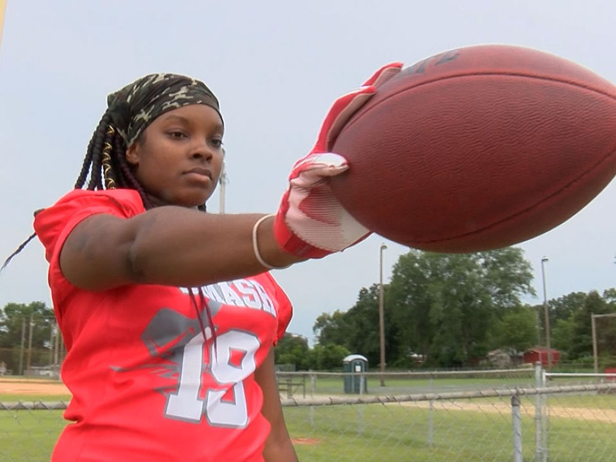 'Can't be a punk and play football': SC women's tackle football league scouts new players