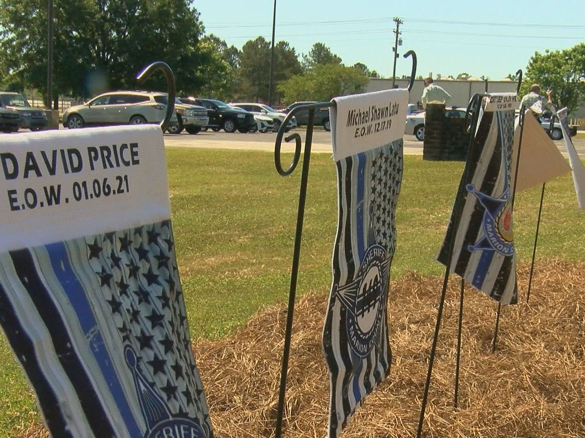 Marion County Sheriff's Office holds fallen officers memorial for National Police Week