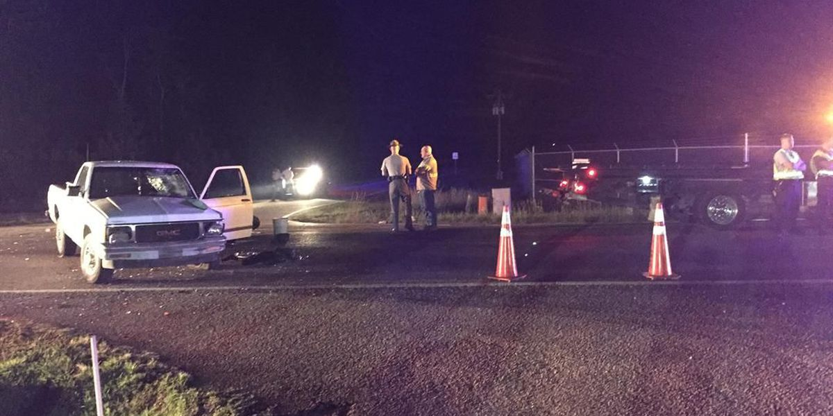 Two injured in Conway crash involving motorcycle, truck