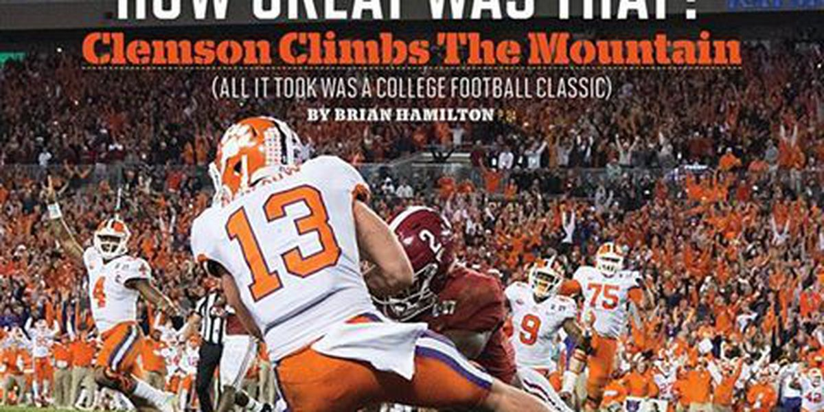 Hunter Renfrow featured on Sports Illustrated cover