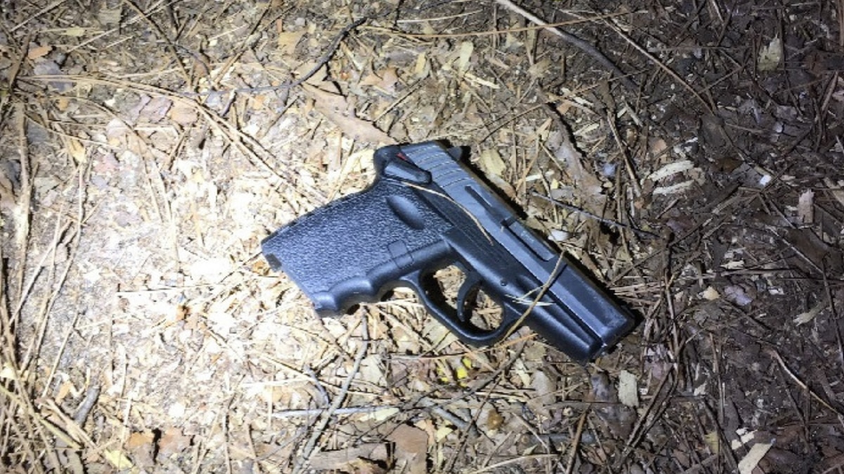 Suspect ditches gun during chase, deputies say