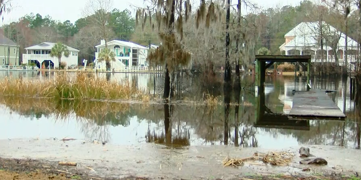 Rosewood residents 'sick and tired' of preparing for floods in their neighborhood