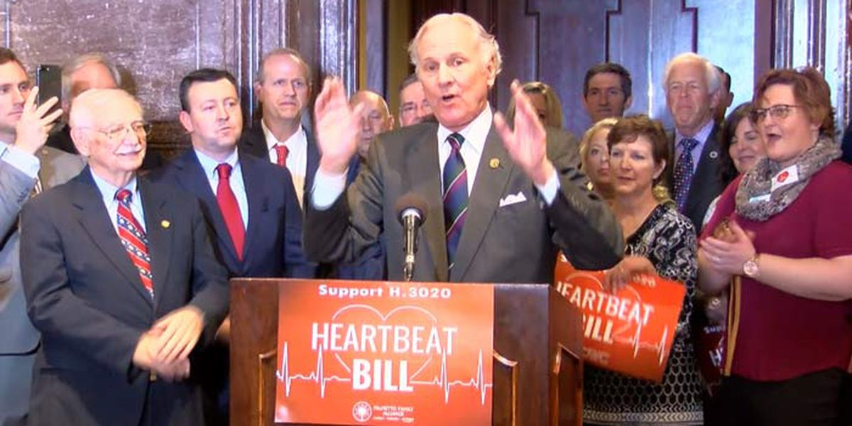 SC's fetal heartbeat bill will likely pass soon; Here's what the law says.