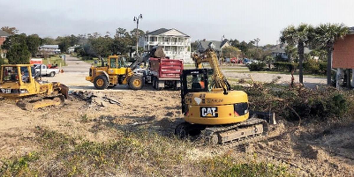 North Myrtle Beach begins expansion of public parking spaces