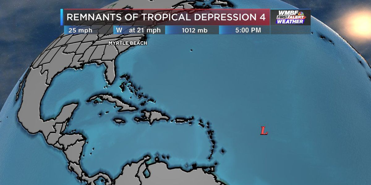 FIRST ALERT: Tropical Depression 4 is no more