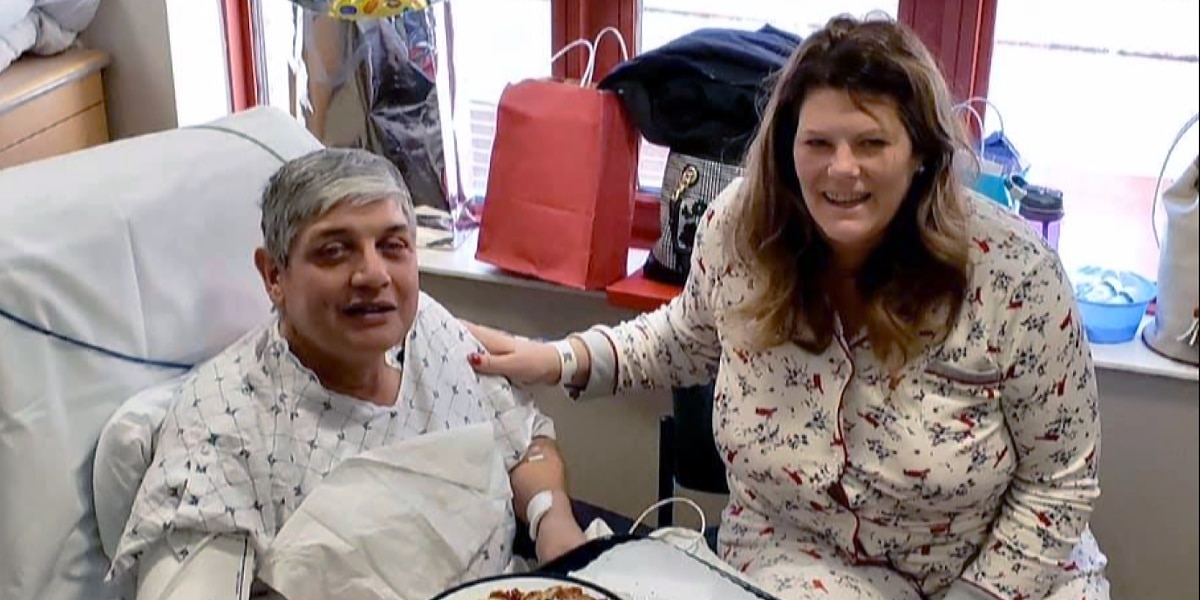 School lunch lady saves janitor's life with kidney donation