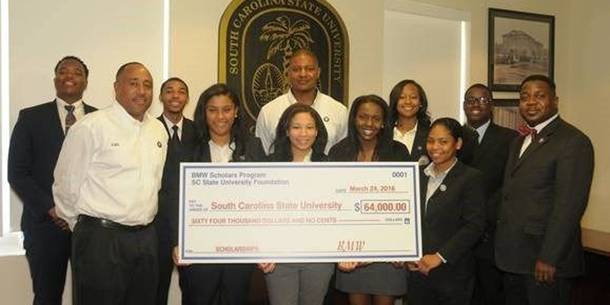 BMW awards SC State students